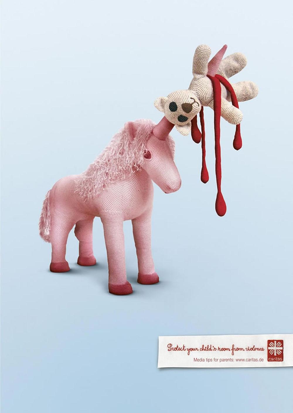 国外动物平面创意