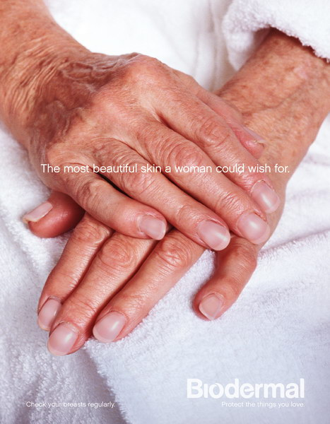 抗击乳腺癌平面广告