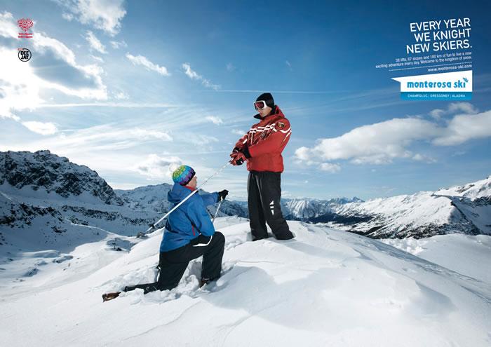 蒙泰罗萨滑雪