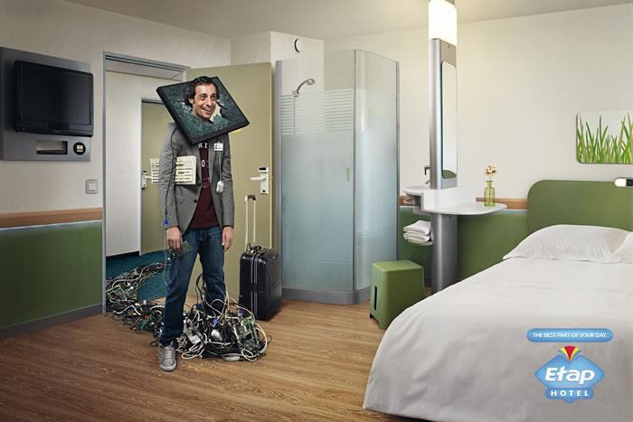 酒店平面广告