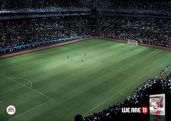 EA足球游戏平面广告