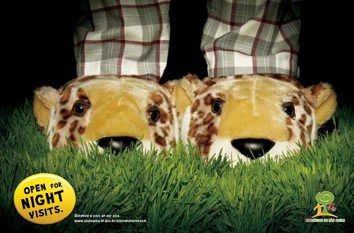 圣保罗动物园平面广告