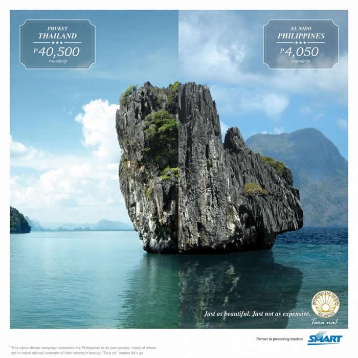 菲律宾旅游平面广告