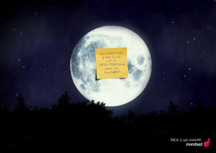 心情电影平面广告