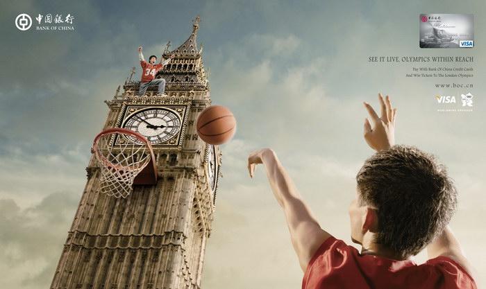 中国银行伦敦奥运会