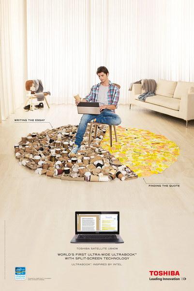 东芝电器平面广告