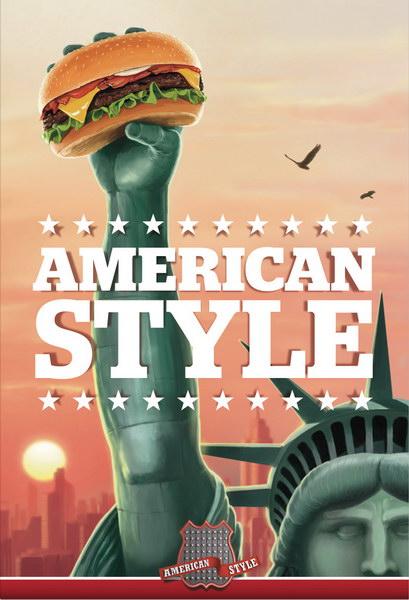 美式汉堡连锁餐厅