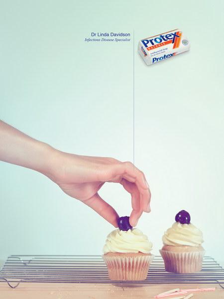 高露洁博思平面广告