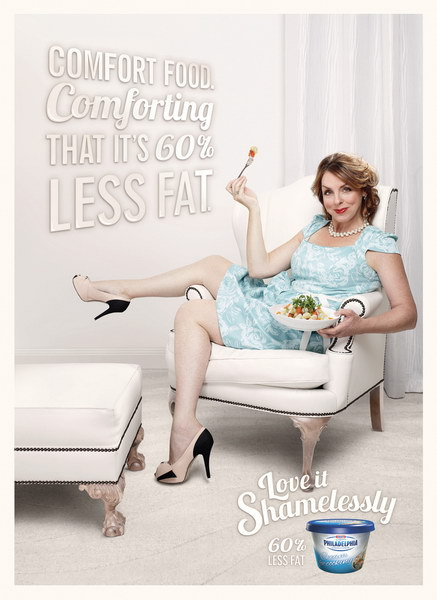 费城酸奶平面广告
