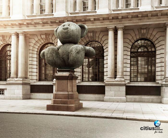 国外儿童旅游平面广告