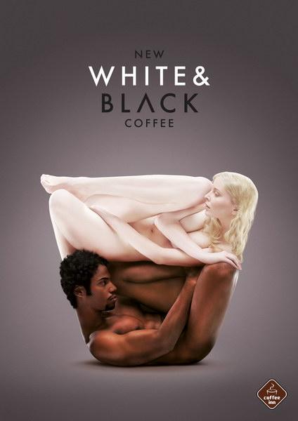 咖啡酒店平面广告