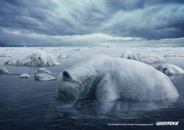 绿色和平组织平面广告