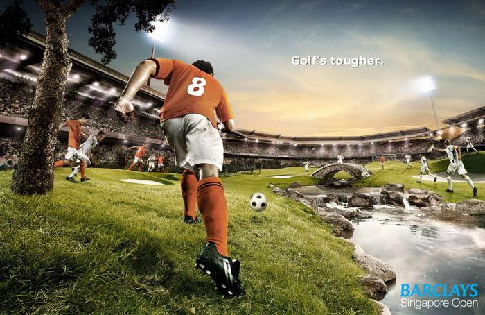 新加坡圣淘沙平面广告广告案例