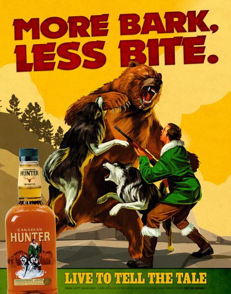 加拿大猎人威士忌