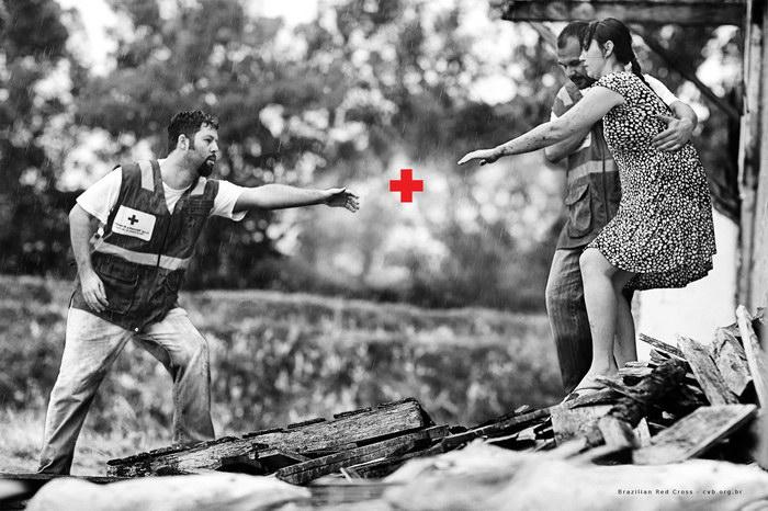 巴西红十字会平面广告