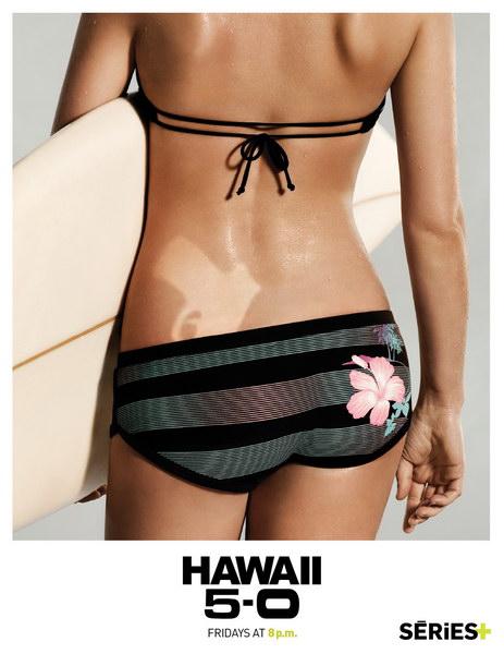 夏威夷5-0平面广告