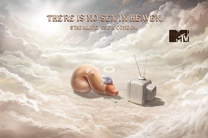 MTV平面广告