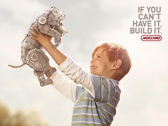 儿童玩具平面广告