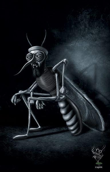 卡斯帕尔蚊香平面广告