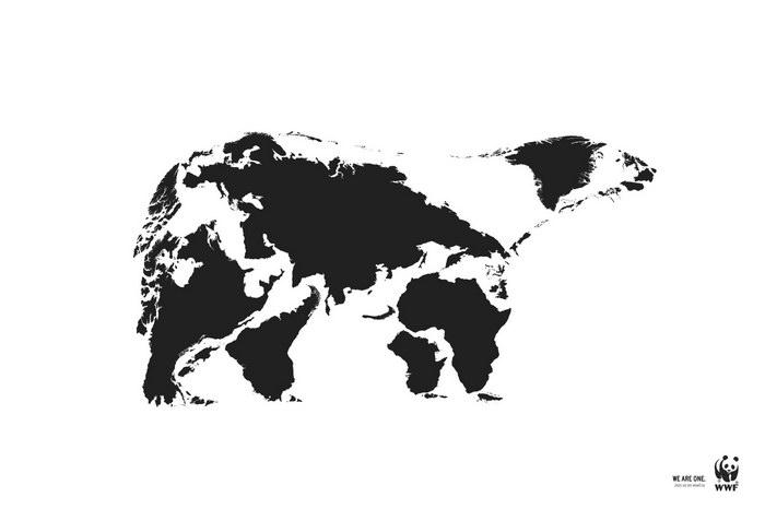 WWF平面广告