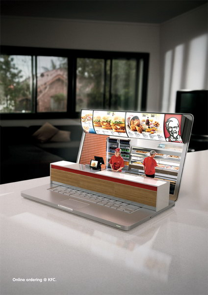 KFC:在线订购