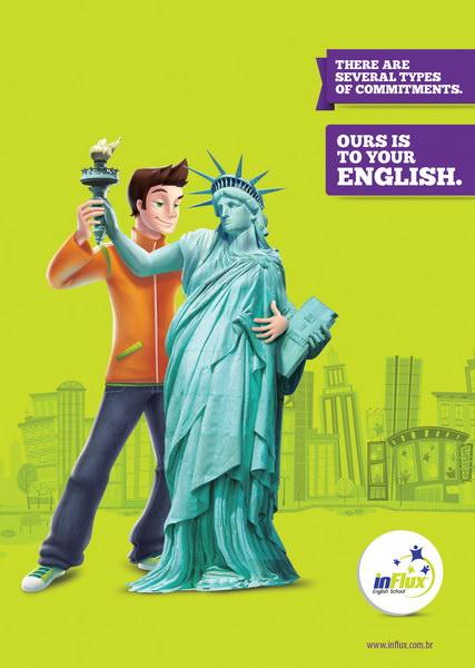 inFlux英文教育