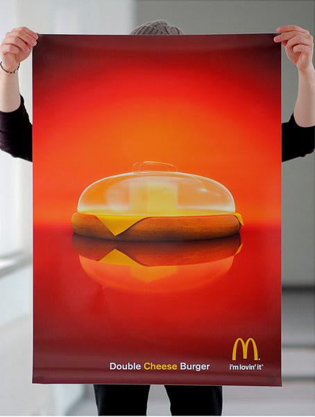 麦当劳平面广告