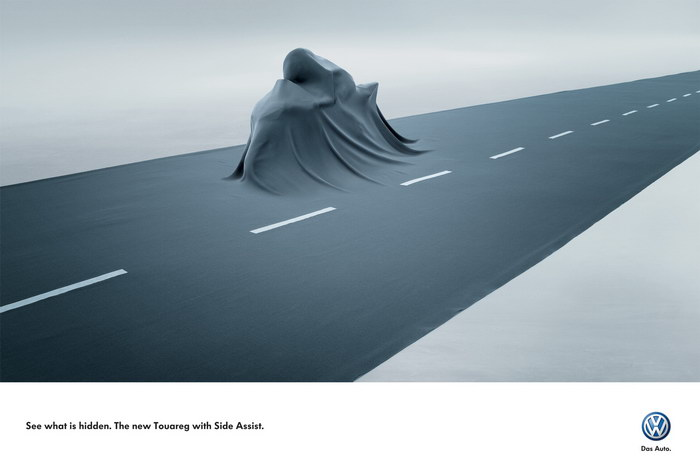 新大众汽车平面广告