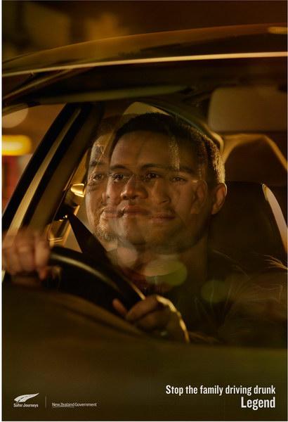 不要酒后驾驶平面广告