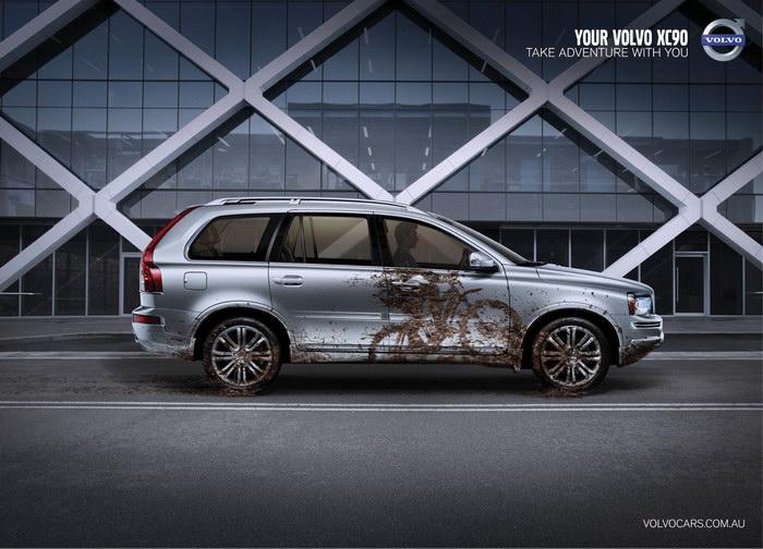 汽车平面广告