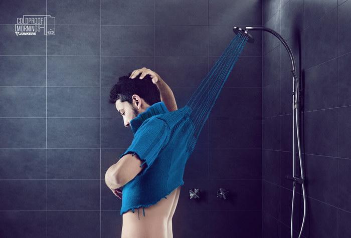 热水器平面广告