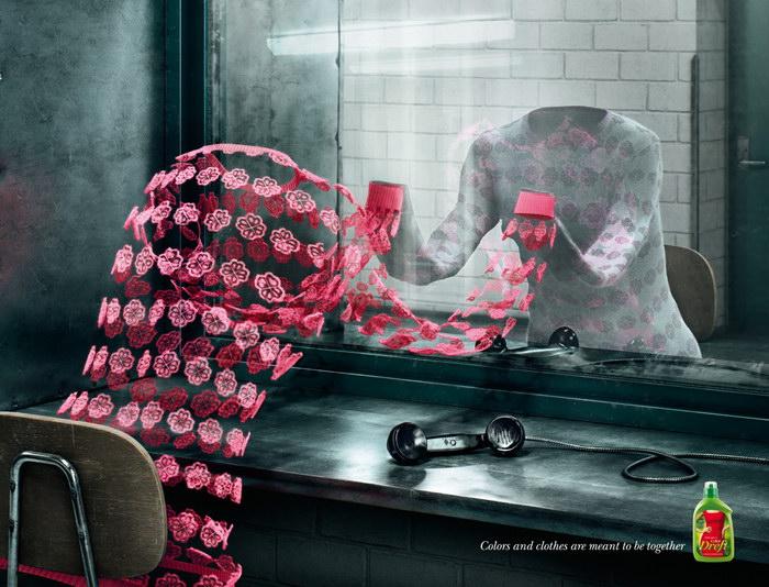 服装平面广告