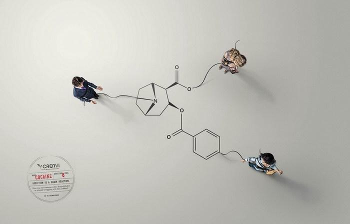 预防药物成瘾平面广告