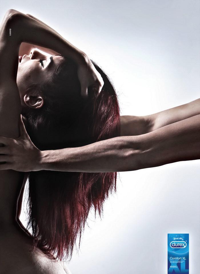 杜蕾斯XL平面广告