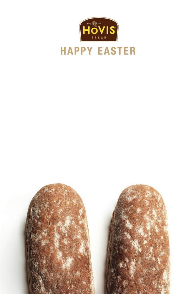 霍维斯面包平面广告