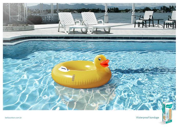 防水绷带平面广告