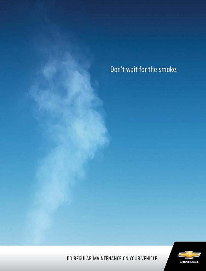 雪佛兰汽车平面广告