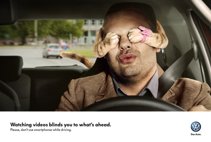 大众汽车平面广告