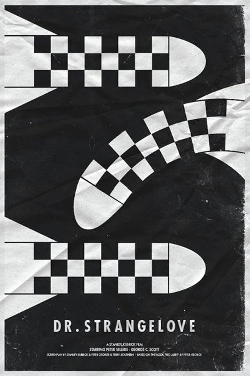 简约风格的电影海报设计